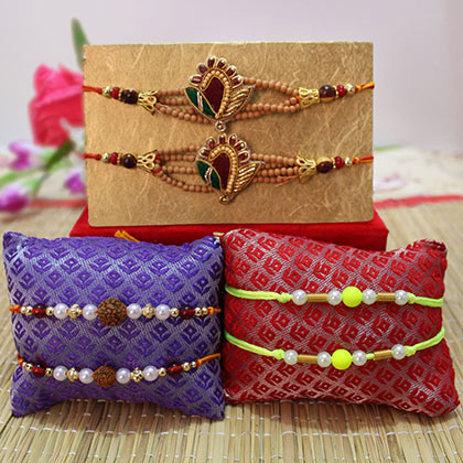 Handcrafted rakhi for brother