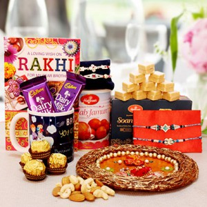 Festive Rakhi Combo for Brother