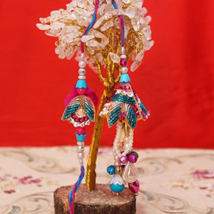 Beautiful embellishments Rakhi for Brother