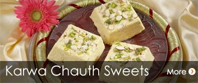 Karwa Chauth Sweets