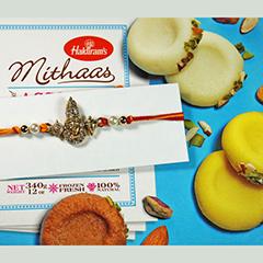 Auspicuoius Rakhi n Sweets