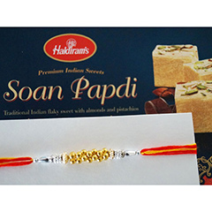 Rakhi with Soan Papdi