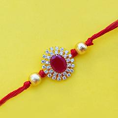 Gleaming Rakhi thread