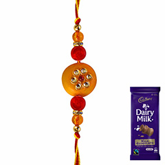Beautifully Bright Rakhi