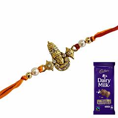 Purely Spiritual Rakhi Combo