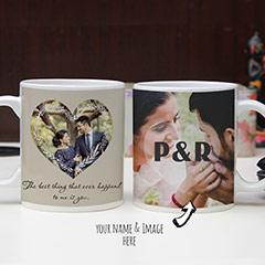 Creatively Personalized Photo Mugs Set