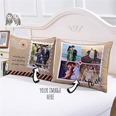 Missing You personalized Cushions Pair
