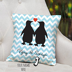 Personalized Names Cushion for Couples
