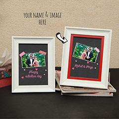 Happy Valentine Personalized Photo Frames