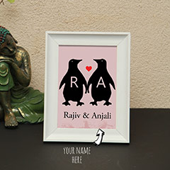Personalized Names Photo Frame