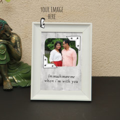 Personalized Names and Quote Photo Frame