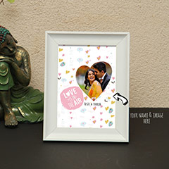 Love in the Air Personalized Photo Frame