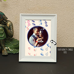 You and Me Personalized Photo Frame