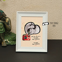 Dear Valentine Personalized Photo Frame