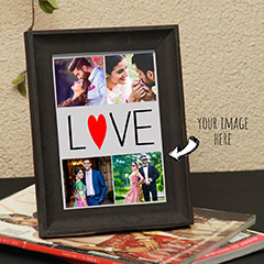 Romantic Past Personalized Photo Frame