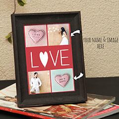 Love Established Personalized Photo Frame