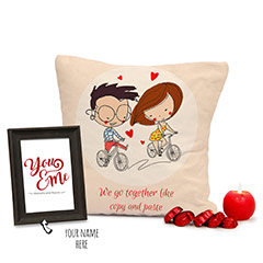 Expressing Adoration Combo of Personalized Gifts