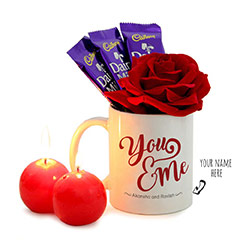 You and Me Personalized Valentine Combo