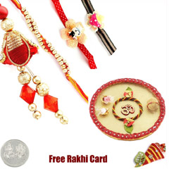 Rakhi Thali with Family Rakhi Set /></a></div><div class=