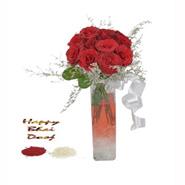 Bhai Dooj Lovely Roses