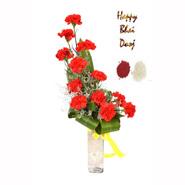 Bhai Dooj Enthusiastic Red