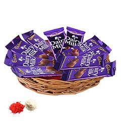 Basket of Dairy Milk-UAE
