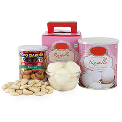 Rasgulla With Cashews-UAE