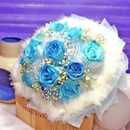 Blues Roses