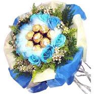 Ferrero & Blue Roses