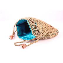 Ethnic Potli (Turquoise)