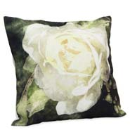 Abstract Floral Cushion Cover