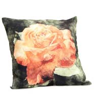 Abstract Flower Cushion Cover