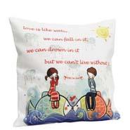 Cute Love Cushion Cover