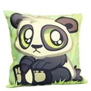 Cute Panda Cushion Cover