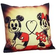 Mickey N Minnie Cushion Cover