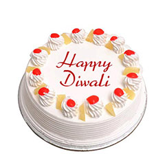 Pineapple Deepavali Cake - Diwali Gifts