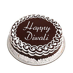 Delicious Chocolate Cake For Deepavali - Diwali Gifts