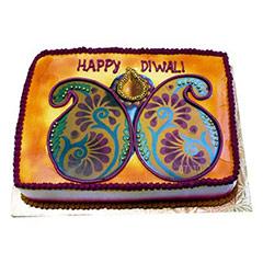 Happy Deepavali Cake 2kg - Diwali Gifts