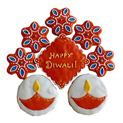 12 Exclusive Deepavali Cookies - Diwali Gifts