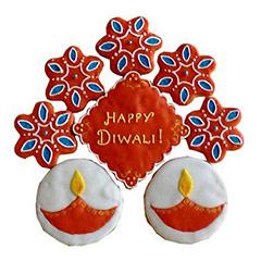 12 Exclusive Deepavali Cookies - Diwali Gifts