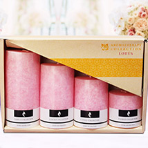 Set of 4 Aromatic Candles