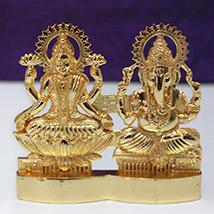 Golden Lakshmi-Ganesh