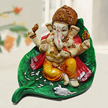Ganesh Ji on Leaf