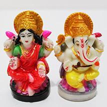 Cute Lakshmi-Ganesha