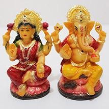 Divine Laxmi Ganesha