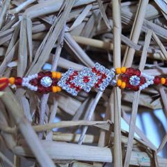 Sparkling Stone Studded Rakhi /></a></div><div class=