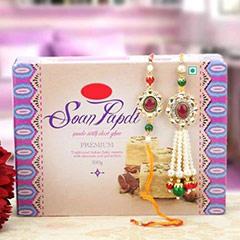Lumba Rakhi Set with Sweets /></a></div><div class=