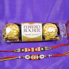 Rakhi pair with 3pc Ferrero /></a></div><div class=