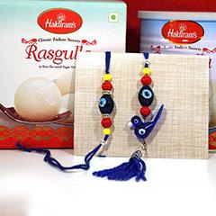 Rasgulla with Bhaiya Bhabhi Rakhi /></a></div><div class=