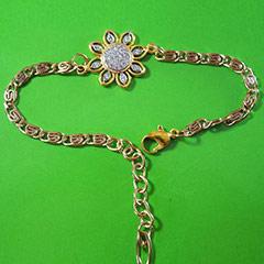 Modern Bracelet Rakhi in American Diamonds /></a></div><div class=